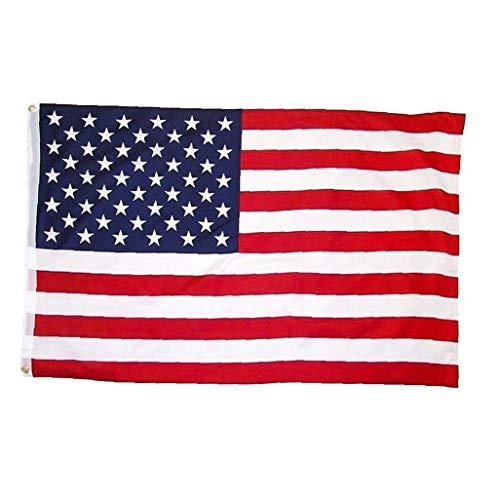 Pollici 35.4x59 bandiera americana bandiere banner in poliestere stampato stati uniti nazionali con occhielli in ottone per appassionati di calcio, olimpiadi, società, circoli sportivi, decorazioni