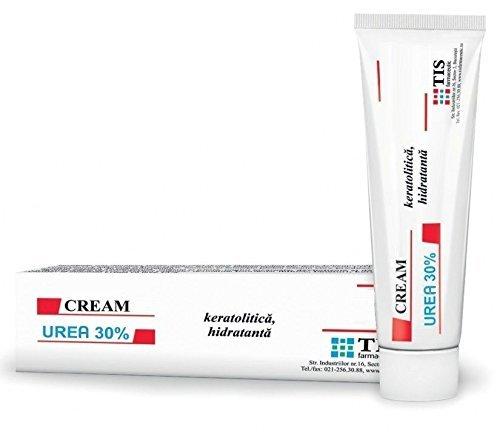 Harnstoff-Creme 30% (UREA CREAM 30%) - Narbenentfernung, Ekzem, Keratose, Psoriasis, Hautausschläge. Für trockene und rissige Haut, Ekzeme, Hautausschläge, Schuppenflechte Hilfe entfernen Narben