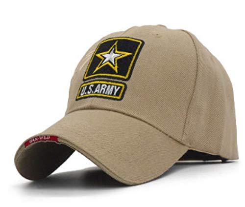 XZZZB Baseball Cap Baseball Cap für Männer Bestickt Star Cap Sport Freizeit Hüte Trucker Cap männlichen Baseball Hut braun Lässig Laufen Baseball Caps -