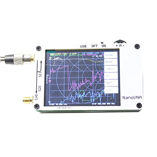 Price comparison product image paletur88 Antenna Network Analyzer,  Portable 50Khz-900Mhz Antenna Analyzer With Usb Interface For Nanovna Vector Network Analyzer For 2.8-Inch Tft Display