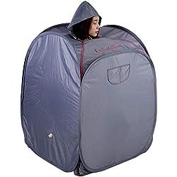 Dampfsauna, tragbar 1.5L Haushalt Aufblasbare Sauna Therapeutische Heimsauna für Entspannung 220V(220V)