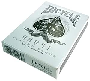US Playing Card Company 1269 - Bicycle Spielkarten (54 Karten) - Ghost