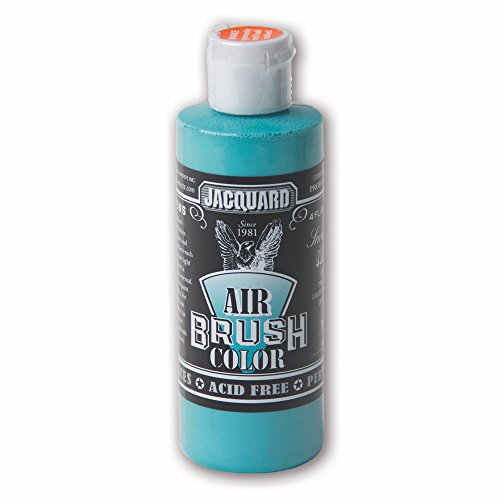 Sneaker Series Airbrush Color by Jacquard, Artist-grade Fluid Acrylic Paint, Use on Multiple Surfaces, 4 Fluid Ounces, Miami