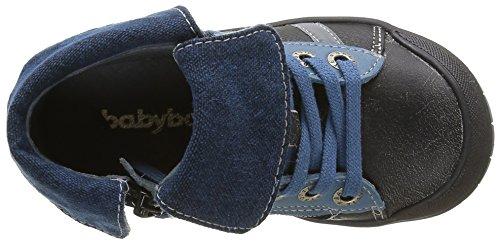 Babybotte Artigraff 1, Chaussures a lacets Garçon Noir (438 Noir)