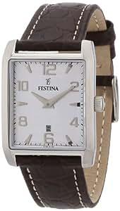 Festina Damen-Armbanduhr XS Klassik Analog Leder F16515/2