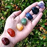 #9: Healing Crystals India Chakra Healing, 0.5-1-inch, Set of 7, Assorted