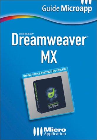 Dreamweaver MX par Alexandre Boni