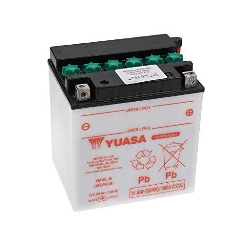 Batteria 12V 30Ah YB30L -B umido Yuasa senza acido Pack   Harley Davidson FLHTCUI espfi Electra Glide Ultra Class