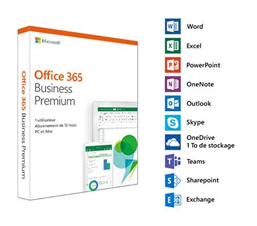 Microsoft Office 365 Business Premium | 1 utilisateur d'occasion  Livré partout en Belgique