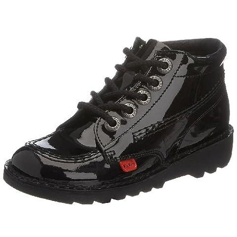Kickers Kick Hi J, Bottines Fille, Noir (Pate Black/black/black), 31 EU