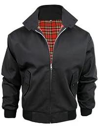 Bomber pour homme Style rétro/trendy Motif Harrington