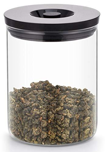 The Tea Makers of London Pot en verre hermétique, Verre, 800ml