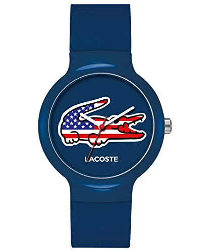 ex Goa Stars And Stripes Watch With Blue Dial ()