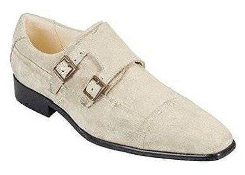 Pantofola In Pelle Da Uomo Sandro Pozzi - Sabbia Sabbia