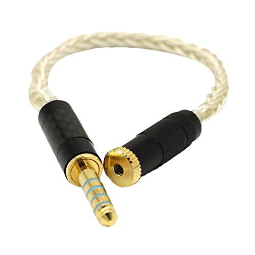 Gazechimp 4,4 Mm Stecker Auf 2,5 Mm Buchse Symmetrisches Kabel Vergoldet Niederfrequenz-wandler
