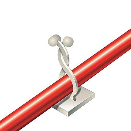 Selbstklebende Drehbinder Kabeldriller Kabeldrehbinder 7-10mm 5 Stück