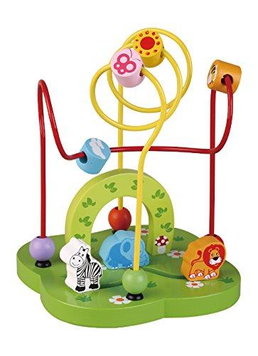 Sun Baby AB3337 Holzlabyrinth- Zoo, mehrfarbig