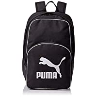 Puma Originals Bp Retro Woven Black Bag For Unisex, Size One Size