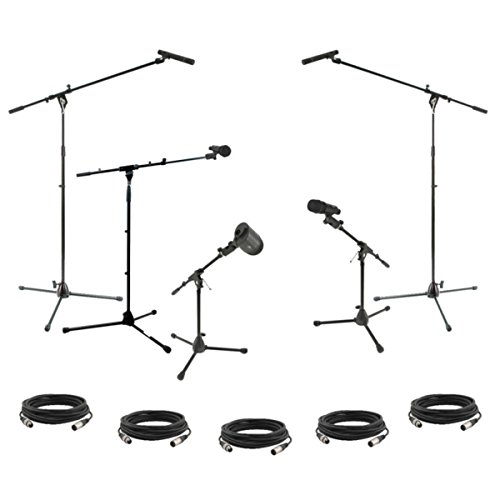 dms-5ps-complete-drum-microphone-set-including-stands-and-cables