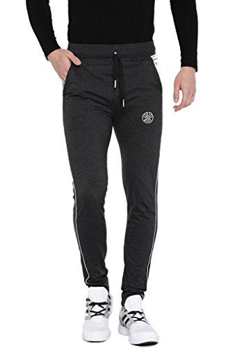 SPORTS 52 WEAR Men's Cotton Blended Trackpants S52W149126_M Black_36/XXL