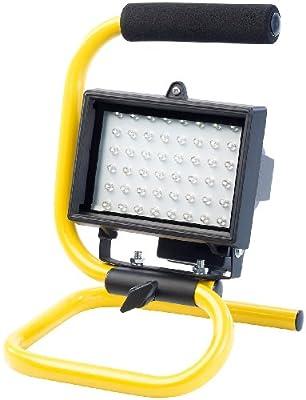 AGT LED-Fluter, 3 W, 48 LEDs, IP44, 2000-mAh-Akku von AGT auf Lampenhans.de