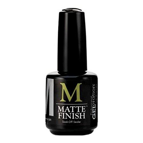 Jessica Cosmetics GELeration MATTE FINISH Soak-Off-Sealer -