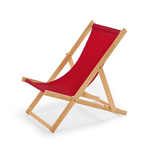 Gartenliege aus Holz Liegestuhl
