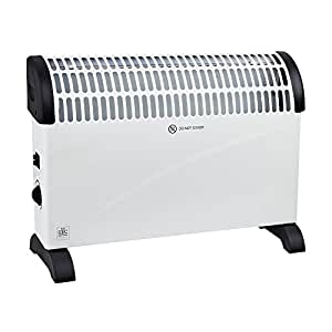 Convector Heater with Adjustable Thermostat, 2 Kilowatt, 400 x 576 x 122 mm