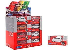 GLOBO- 1:43 Die Cast Cars W/Licence 12Models 24 Piezas/D-Box (38507), (1)