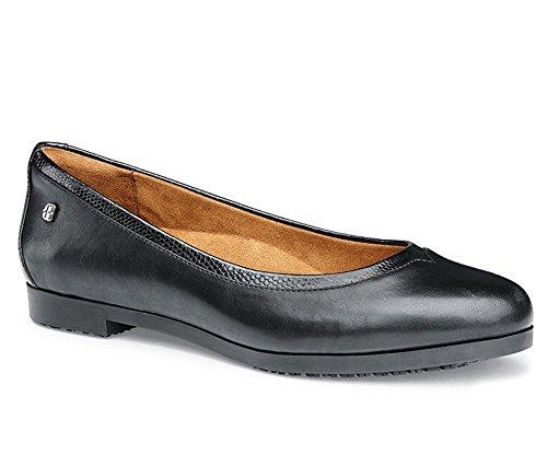Shoes for Crews 57160-42/8 REESE Ballerina-Schuh für Damen, Größe 42 EU, Schwarz