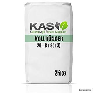 KAS NPK Volldünger 20+8+8(+3) 25 kg Rasendünger