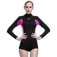 c407f25982346 Fortuning s JDS® Ladies 2mm Neoprene long sleeve dive skin wetsuit