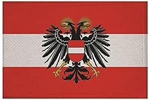 U24 Aufn/äher Italien mit Wappen Fahne Flagge Aufb/ügler Patch 9 x 6 cm