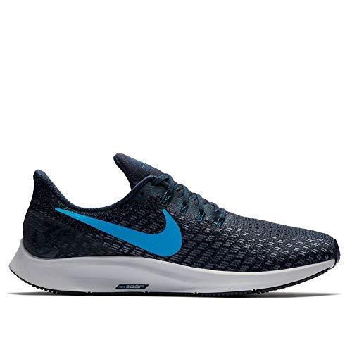 Nike AIR Zoom Pegasus 35, blau(obsidianblueherogunsmo (401)), Gr. 14