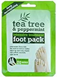 3 x TEA TREE & PEPPERMINT INTENIVE TREATMENT FOOT PACK DEEP MOISTURISING by Tee Tree