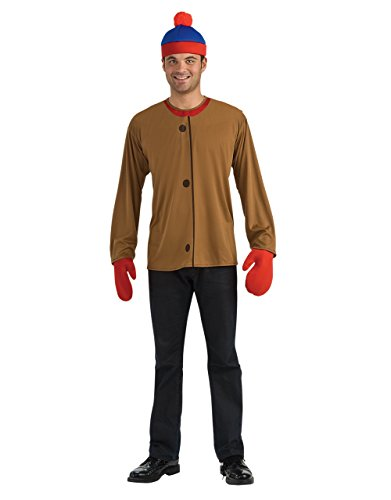South Park Costume, Mens Stan Outfit, Standard, CHEST (South Park Kostüme Für Erwachsene)