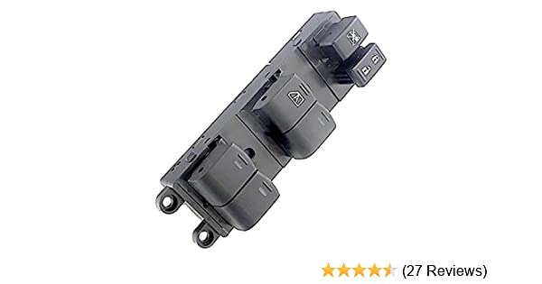 APDTY 112897 Master Power Window Switch Fits Front Left 2007-2016 Nissan Frontier 4-Door or 07-15 Xterra Driver-Side Front; Replaces Nissan 25401-ZP70A, 25401ZP70A