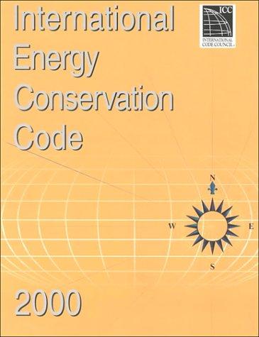 International Energy Conservation Code, 2000 par -