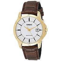 Casio Mtp-V004Gl-7Audf Original and Genuine Watch, Analog Display