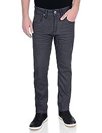 Hommes Crosshatch Neuf Menzo Jeans Coupe Droite Étroit Extensible Pantalon Jeans