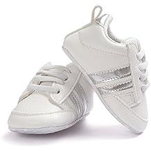 zapatos de bebé, Kfnire zapatillas de deporte casuales del bebé del otoño, zapatos deportivos de la manera recién nacida