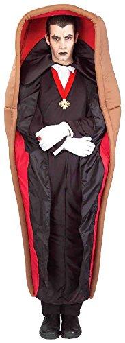 Kostüm Dracula im Sarg - Standard (Dracula Sarg Kostüm)