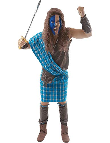 Schottischer Krieger Herrenkostüm Standard