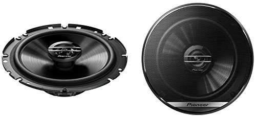 Pioneer Car Speakers TS-G1720F, 300W, 2-Way, 17cm, Noir