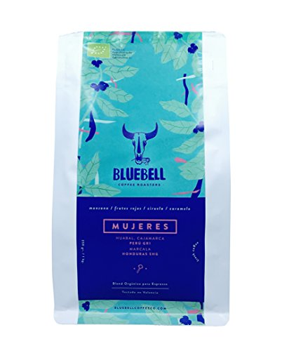 Bluebell Coffee de Temporada en Grano - 250g - Blend Orgánico Tueste Espresso - Tostado en Valencia