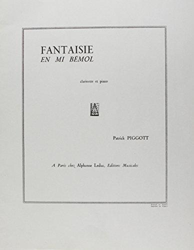 FANTAISIE EN MIB CLARINETTE SIB ET PIANO