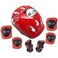 Forfar niños niño Montar bicicleta de la bici de protección Gear Set para Multi-Sports actividades al aire libre Patinaje en línea, patinaje, fútbol, voleibol