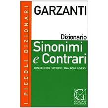 amazon.it: garzanti sinonimi e contrari - Piccolo Giardino Sinonimo