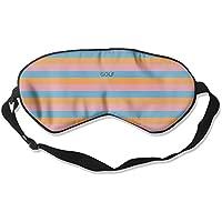 Comfortable Sleep Eyes Masks Golf Stripes Pattern Sleeping Mask For Travelling, Night Noon Nap, Mediation Or Yoga preisvergleich bei billige-tabletten.eu