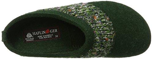 Haflinger Grizzly Anke, Sneakers Basses Mixte Adulte Grün (Eibe)